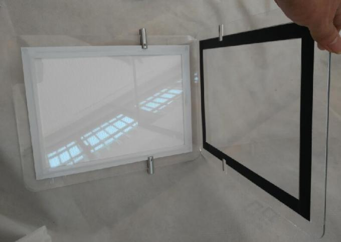 Single Sided Advertising Crystal Led Light Box Display Magnetic With Acrylic Frame