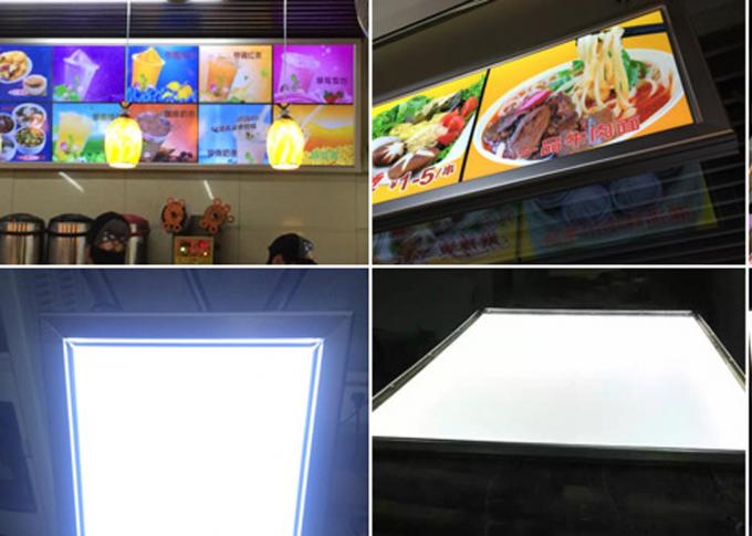 Single Side Ultra Slim Movie Poster Snap Frame Light Box Multi Color With Aluminum Alloy