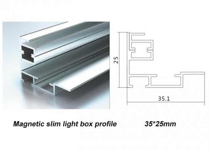 A1 Size Slim Magnetic LED Light Box Low Power Consumption For Wall Mounted / Countertop