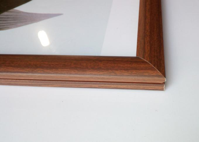 A3 Size Wood Snap Lock Frames 25MM Width Right Angle For Notice Board