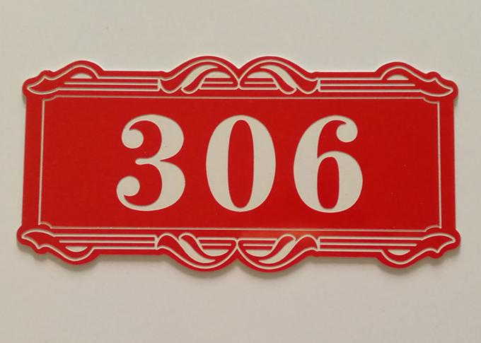"24"" X 49"" ABS Rotary Engraving Plastic Sheet , CNC Custom Engraved Plates"