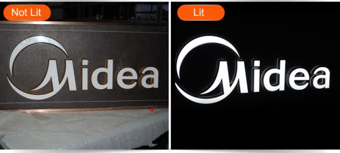 Customized Acrylic LED Indoor Sign Letters for Company / Coffee Shop / Restaurant