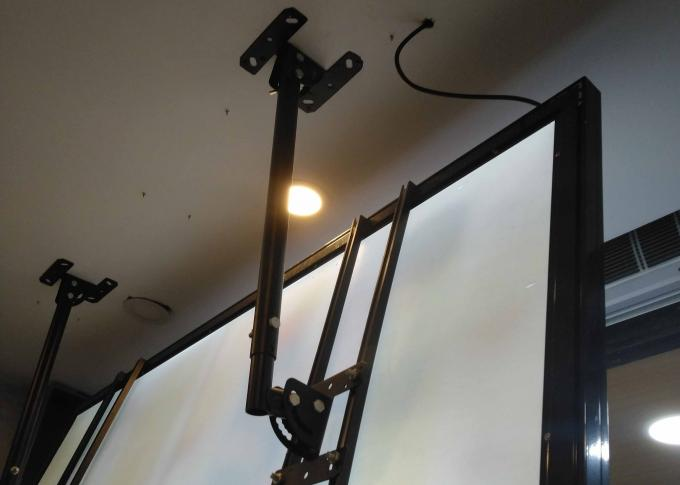 Sign Shop Installation  Fixing Bracket Hardware  For Light Box Display Frame