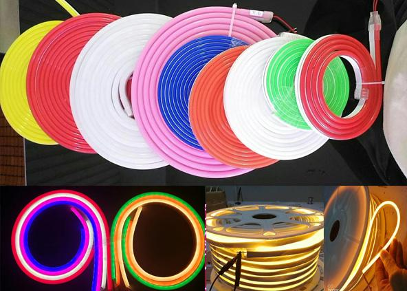 6*12mm  Rope Sign Led Table Lamp Neon Light Strip For Neon Sign Board Light Source