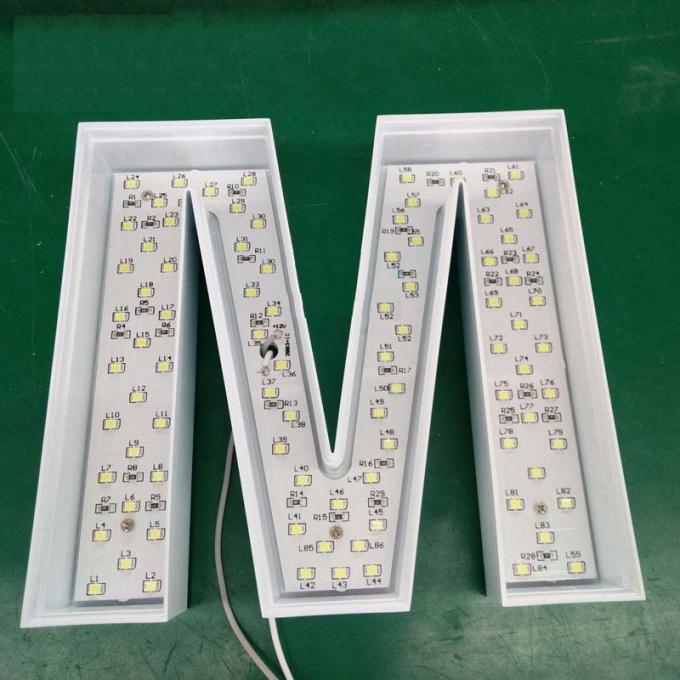 Samsung  Lighted Channel Letters For Cellphone Store Counter Sign  Injection Mold Made