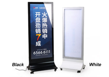 China Free Standing Movable Led Light Display Box supplier