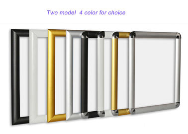 Aluminium A3 Snap Lock Frames Lockable 36*25*48 Cm For Advertising Decrolation