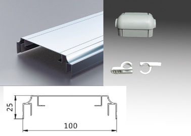 Double Sided Sign Frame Extrusions Non - Flectional Aluminum Profiles  10 Cm Width
