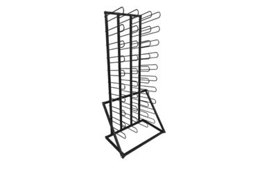Organizer Rack Rolling Floor Rack for Vinyl Roll Storage Wall Mount Vinyl Rack