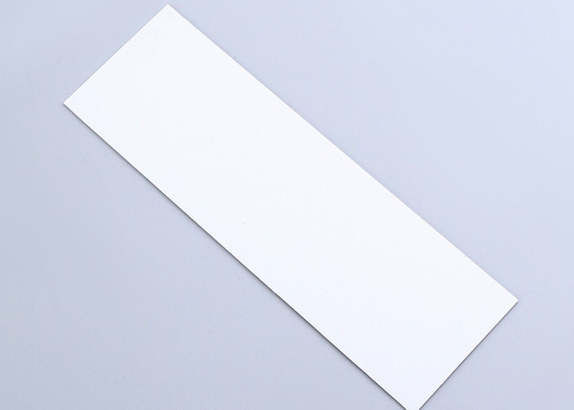 "24"" X 49"" ABS Engraving Plastic Sheet , White Lacquered Surface Engraved Plastic Plates"