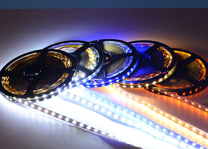 2835 3014 5530 DC12V Led Sign Modules / Aluminum Flexible Tape Light 60 Leds / M