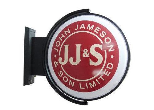 Round D50cm  Lighted Pub Sign Rotating / Club Sign / Beer rotating Sign