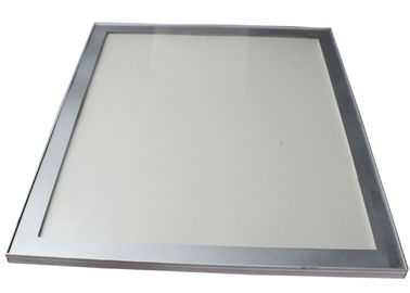 China Restaurant Silvery Lighted Picture Frame Box , Led Backlit Poster Frame For Cosmetics Shop factory