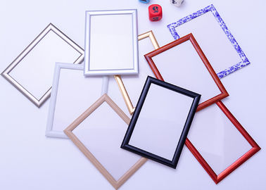 China Round Corner A1 Snap Frame Poster Display , Wall Mounted Aluminum Picture Frames factory